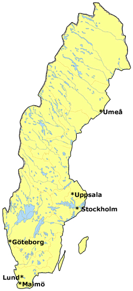 karta sverige göteborg Se Sveriges karta och lyssna på dialekter karta sverige göteborg